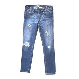ARIZONA   Faded Distressed Stretchy Ankle Jeans